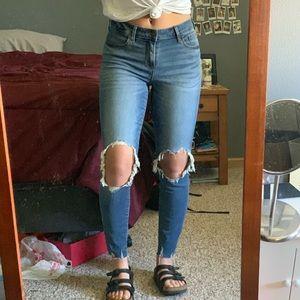 Old Navy - Rockstar jeans.